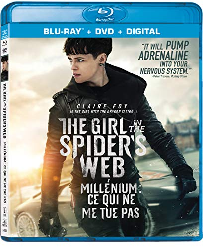 The Girl in the Spider's Web [Blu-ray + DVD + Digital -