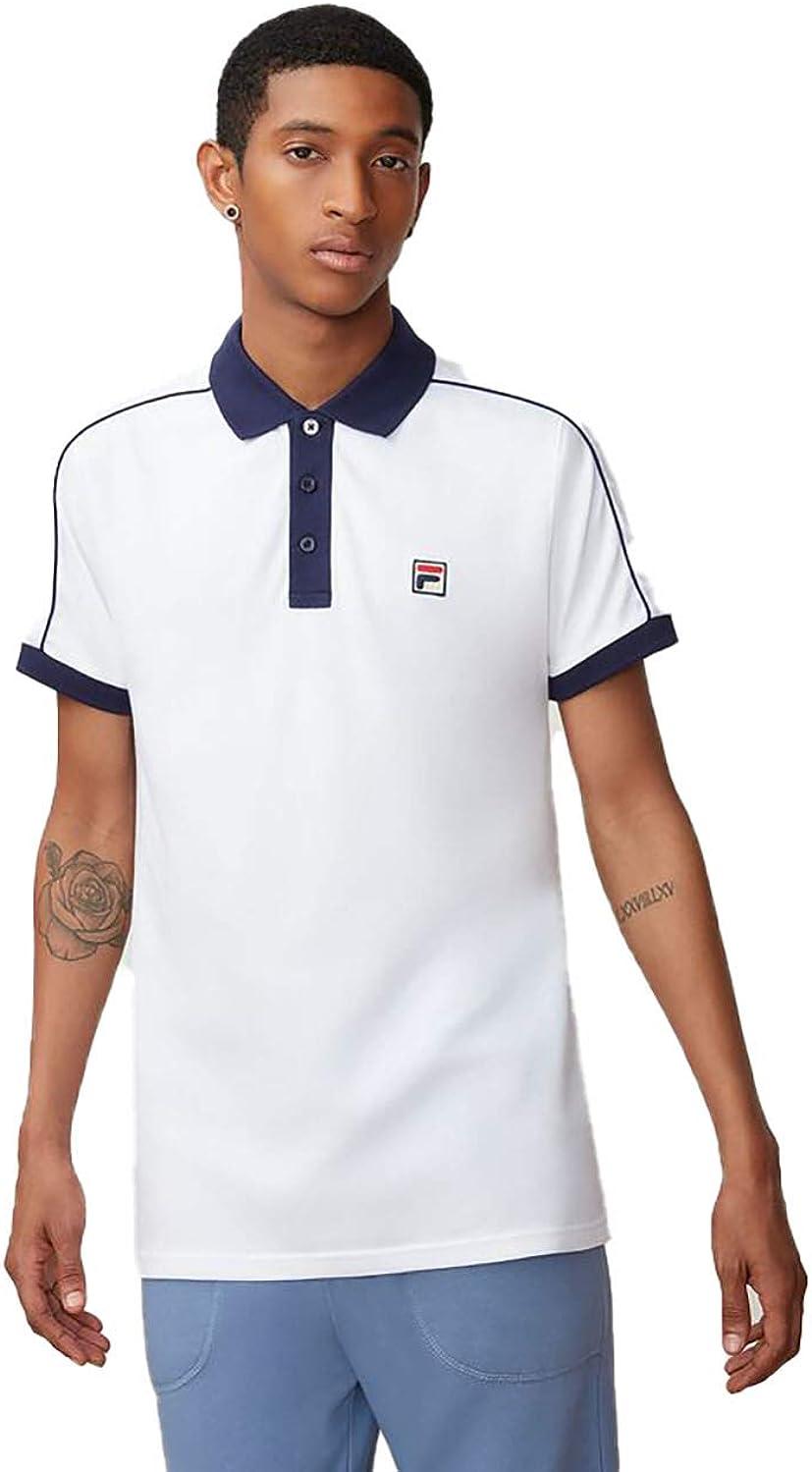 Fila Klein Polo para Hombre - Blanco - 4X-Large: Amazon.es: Ropa y ...