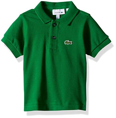 (Lacoste Boys' Little Short Sleeve Classic Pique Polo, rocket green, 1)