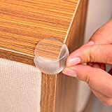Premium Clear Baby Corner Guards Ball Shape,Child Proof Corner Safety Bumpers Furniture Corner Protector with Extra Hold Adhesives and Matt Finish,Keep Children Safe-8 Pack