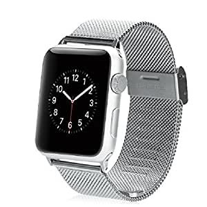 Apple Watch Band, Replacement Steel mesh for iWatch 38mm with Adapter