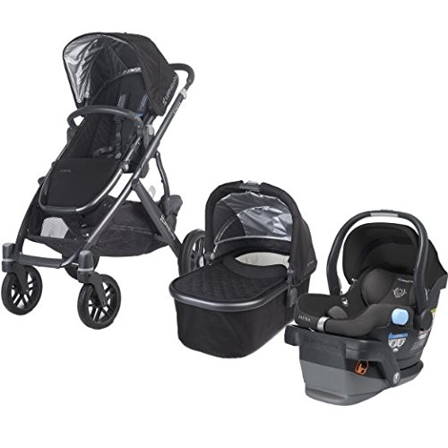 UPPAbaby 2015 Vista Travel System in Jake Black