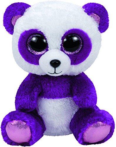 Ty Beanie Boos Regular Plush By ADD & SHIP (Boom Boom- the Purple