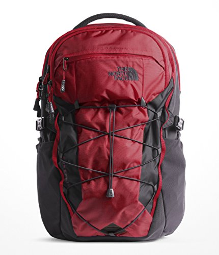 The North Face Borealis Backpack - Rage Red Ripstop & Asphalt Grey - OS -
