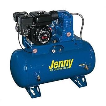 Jenny j11hga-30t sola etapa servicio vehículo eléctrico Start Gas bomba compresor de aire con J, 30 Gallon depósito, 11 HP: Amazon.es: Amazon.es