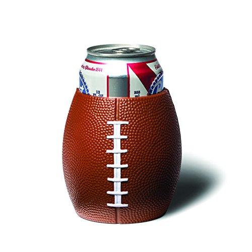 BigMouth Inc Football Drink Kooler, Brown