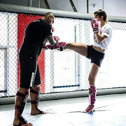 Naja Extreme MMA Instep Leg Pads Protective Muay Thai Boxing Training Kickboxing Shin Guards