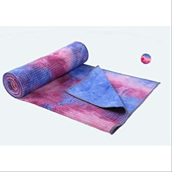 SMEI Yoga Mat Toalla 183 * 63cm Antideslizante Suadez ...