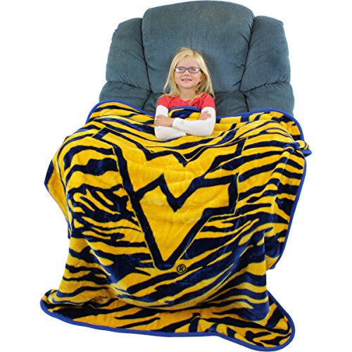 (College Covers Raschel Throw Blanket, 50