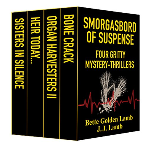 Smorgasbord of Suspense: Four Gritty Mystery-Thrillers
