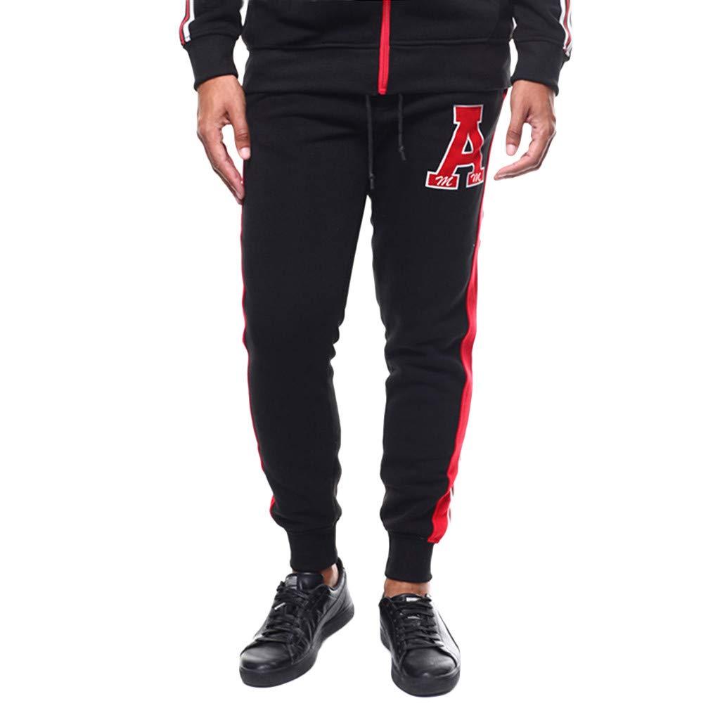 fbc04d43709ea7 Amazon.com: Allywit Mens Slim Fit Joggers Fitness Plus Size Activewear Sports  Sweatpants for Gym Training Black: Clothing