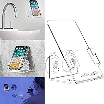 Beautiful House Ur Home Updated Stronger Bathtub U0026 Shower Cell Phone Case Stand  Holder Caddy Tray Mount