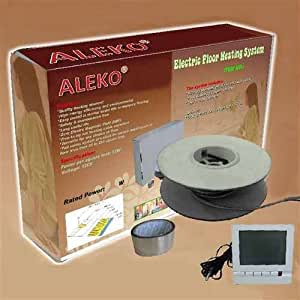 ALEKO Electric Tile Radiant Warm Floor Heat Heated Kit 1000W 80SQFT