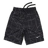 Nike Boys YTH Dry Legacy AOP Short AA3091 010 Youth Size Small Black/White