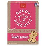 Cloud Star Buddy Biscuits Dog Treats, Sweet Potato Madness, 16-Ounce Boxes (Pack of 6)