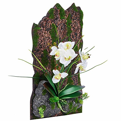 3D Frames Artificial Flowers Orchid Arrangement Table Top Decoration or Wall Mounted Sculptures (Same Day Ftd Florist)