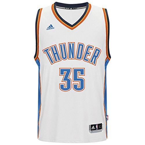 a0d2386ff19 30%OFF Oklahoma City Thunder Kevin Durant White Adidas Swingman Jersey