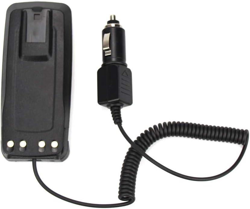 Battery Eliminator Car Charger for Motorola CP1200 CP1300 CP1600 CP185 CP476 EP350 Two Way Radio Battery Charger