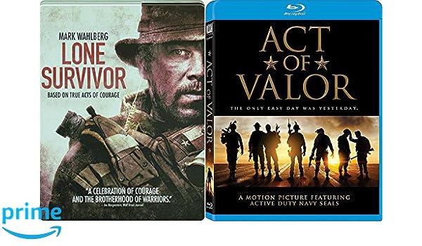Amazon com: Navy True Story Act of Valor 2 Blu-Ray Bundle