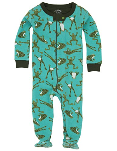 - Hatley Baby Boys' Footed Coverall, Frogs, 18-24 Months