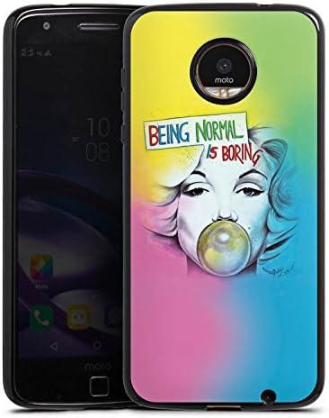 Lenovo Moto E3 Carcasa Case Silicona Marilyn Monroe Star Sprüche ...