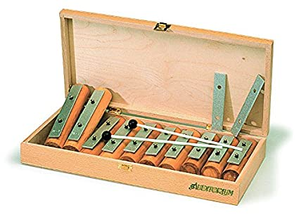 Amazoncom Gitre 766 Chime Bars Set In Wooden Box Pack Of 10