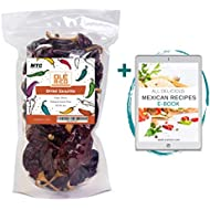 Guajillo Chiles Peppers 4 oz Bag, Great For Cooking Mexican Chilli Sauce, Chili Paste, Red Salsa, Tamales, Enchiladas, Mole With Sweet Heat And All Mexican Recipes by Ole Rico