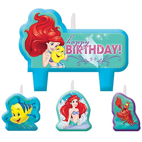 Little Mermaid Ariel Birthday Candle ()