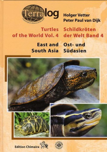 TERRALOG: Turtles of the World, Vol. 4 - East and South Asia(v. 4) by Verlag A.C.S. GmbH.