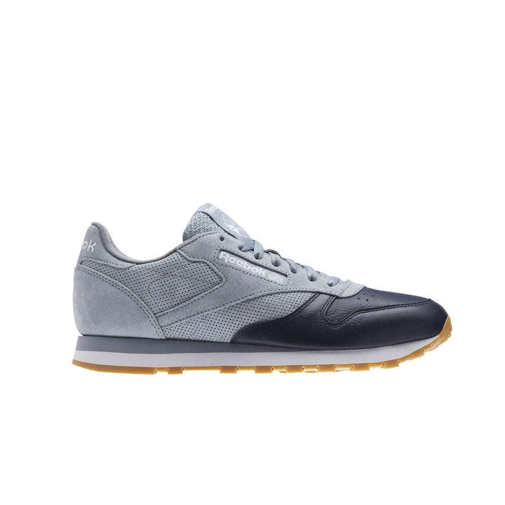 ae370fb713b Amazon.com  Reebok Classic Leather Ls (Meteor Grey Collegiate NA) Men s  Shoes BD6078  Sports   Outdoors