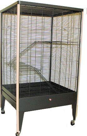 Kritter Kastle Cage for Sugar Gliders, Chinchillas, Squirrels, Ferrets by Exotic Nutrition