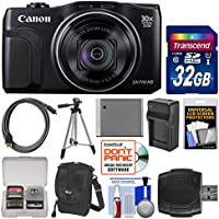 Canon PowerShot SX710 HS Wi-Fi Digital Camera with 32GB Card + Case + Battery & Charger + Tripod + Kit Review Review Image