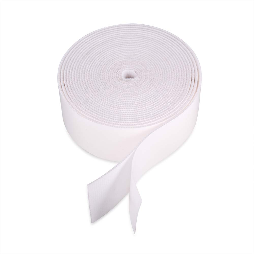 "197"" (500CM) Length White Self-Adhesive Soft Fiber Felt Roll for Felt Edge Squeegee Replacement Accessories Vinyl Applicator: Industrial & Scientific"