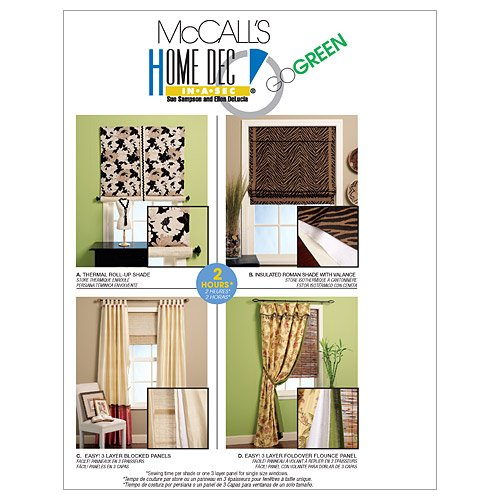 McCall's Patterns M5828 Window Treatments