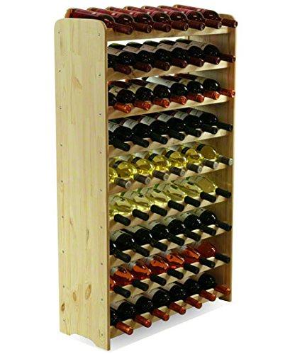 Flaschenregal Weinschrank Weinständer Weinregal für 63 Flaschen