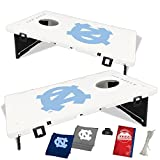 Baggo 2006 University of North Carolina Tar Heels Complete Baggo Bean Bag Toss Game