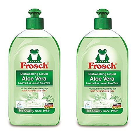 Frosch Natural Aloe Vera Liquid Hand Dish Washing Soap, 500 ml by ...