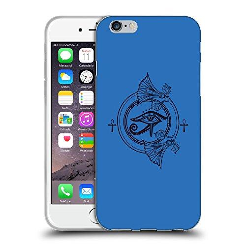 GoGoMobile Coque de Protection TPU Silicone Case pour // Q08360608 Ra horus 1 Azur // Apple iPhone 7