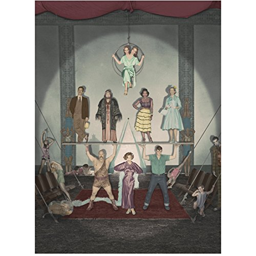 American Horror Story Freakshow Cast with Jessica Lange Performing 8 x 10 Inch - Ahs Freakshow