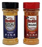 Frank's RedHot Seasoning Set: Frank's RedHot Original and Buffalo Ranch - Set of 2 Frank's RedHot Seasoning Blends