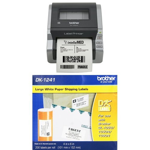 Brother Newtwork Ready 4″ Wide Label Printer (QL-1060N)