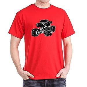 CafePress - Monster Pickup Truck - 100% Cotton T-Shirt