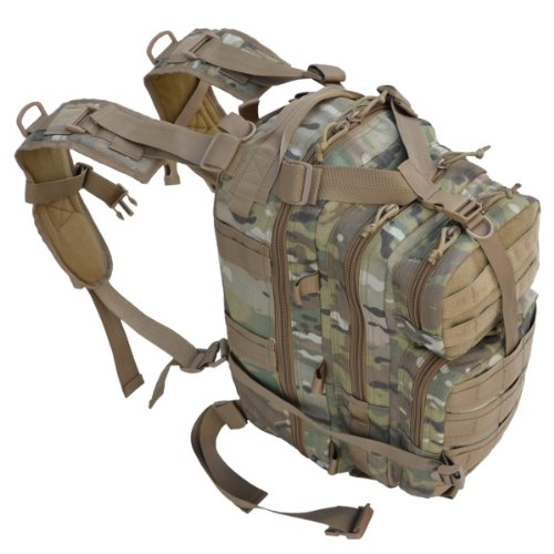 Every Day Carry Tactical Assault Bag Day Pack Backpack w/ Molle Webbing Multicam, Outdoor Stuffs
