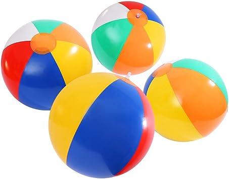 Toyvian Bolas inflables Pelotas de Playa y Natacion Juguete de ...