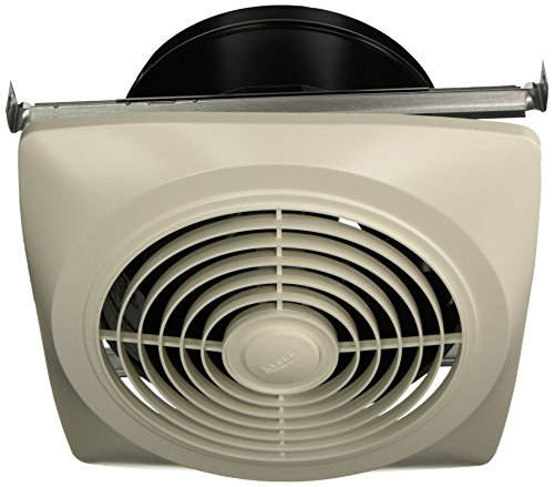 Broan Exhaust Fan, White Vertical Discharge Ceiling Ventilation Fan, 6.5 Sones, 350 CFM, 10