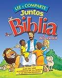 Lee y comparte juntos Biblia y Devocional: Más de 200 historias bíblicas y 50 devocionales (Spanish Edition)