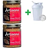 Artisana, Organics, Raw Pecan Butter, 8 oz (227 g) (2 PACKS) + Assorted Sundesa, BlenderBottle, Classic With Loop, 20 oz