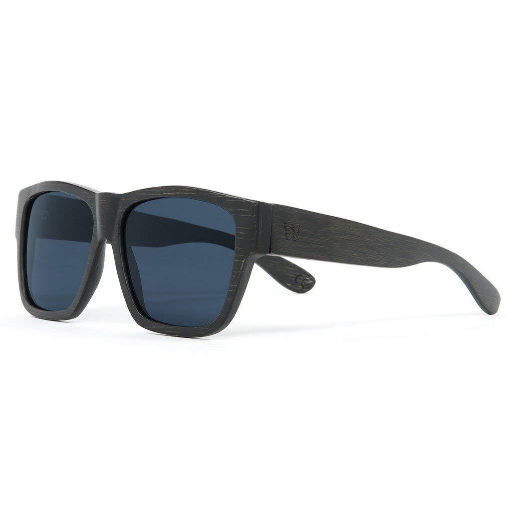 Amazon.com: Woodzee Brown Wood Bamboo Sunglasses for Men ...