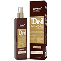 WOW 10 in 1 Miracle Hair Oil 200ml No Mineral Oils Parab