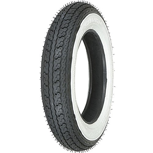 Shinko SR550 Front/Rear 3 Ply 3.50-10 Wide White Wall Scooter Tire